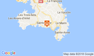 Map Sainte Luce One-room apartment 26400