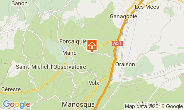 Map Forcalquier House 90128