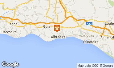 Map Albufeira House 15262