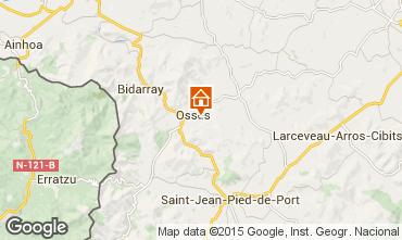 Map Saint Jean Pied de Port Apartment 82959