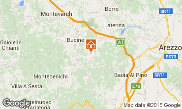 Map Bucine House 84078