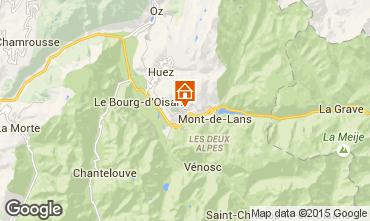 Map Auris en Oisans House 66108