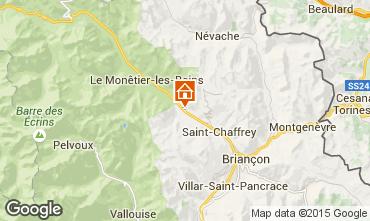 Map Serre Chevalier Chalet 2855