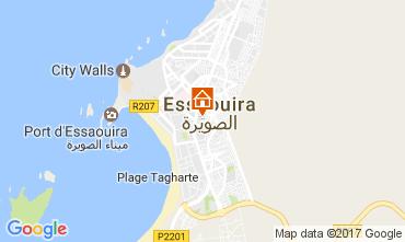 Map Essaouira Villa 107598