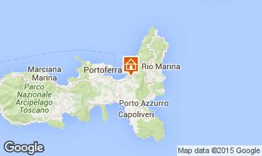 Map Portoferraio Apartment 70073