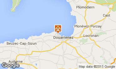 Map Douarnenez Apartment 7380