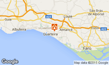 Map Vilamoura Villa 11206