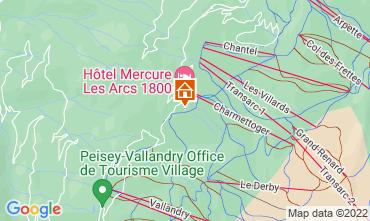 Map Les Arcs Chalet 131