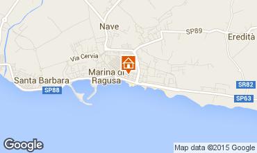 Map Marina di Ragusa Apartment 94320