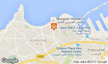 Map Casablanca Apartment 31988