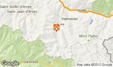 Map Valloire Apartment 50290