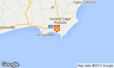 Map Isola di Capo Rizzuto Apartment 54877