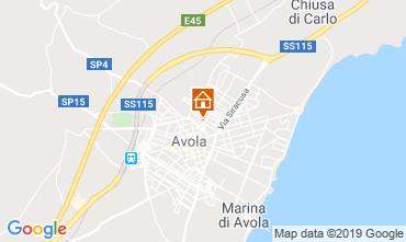 Map Avola One-room apartment 119075