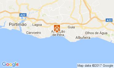 Map Armação de Pera Apartment 104093