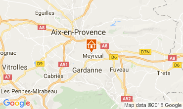 Map Aix en Provence House 113292