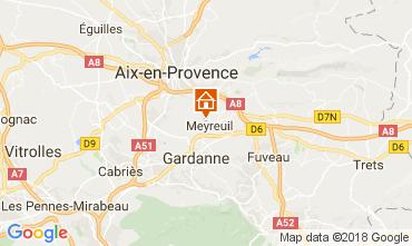 Map Aix en Provence House 113292