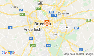 Map Brussels Apartment 118001