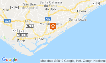 Map Fuseta Bungalow 118112
