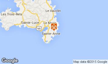 Map Sainte Anne (Martinique) Villa 8120