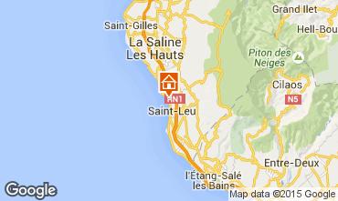 Map Saint Leu Apartment 83095