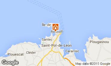 Map Roscoff Apartment 97605