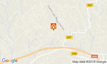 Map La Cadière d'Azur Villa 113830
