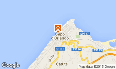 Map Capo d'Orlando Apartment 93140