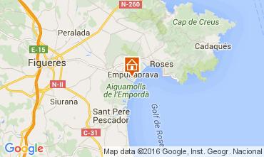 Map Empuriabrava House 104033
