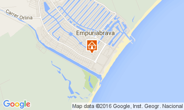 Map Empuriabrava House 104033