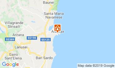 Map Arbatax Apartment 114742