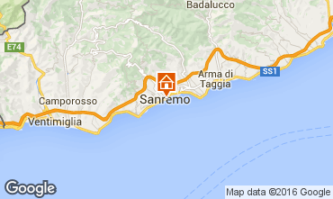 Map Sanremo Apartment 64571