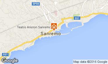 Map Sanremo Apartment 64571