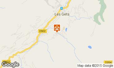Map Les Gets Chalet 70500