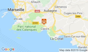Map Cassis Apartment 118046