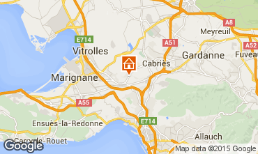 Map Marseille Villa 74586