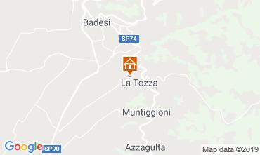 Map Badesi House 75261