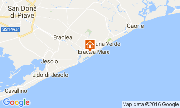 Map Eraclea Mare Apartment 41513
