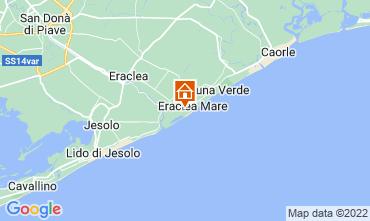 Map Eraclea Mare Apartment 41513