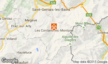 Map Les Contamines Montjoie Chalet 930