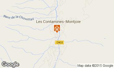 Map Les Contamines Montjoie Chalet 930