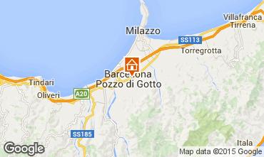 Map Milazzo Apartment 76216