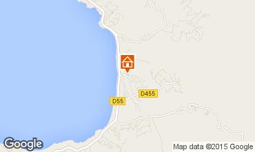 Map Porticcio Villa 10016