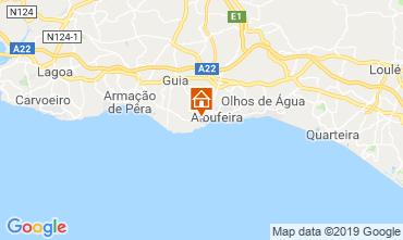 Map Albufeira Apartment 69551