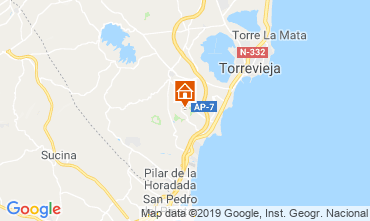 Map Torrevieja House 118486
