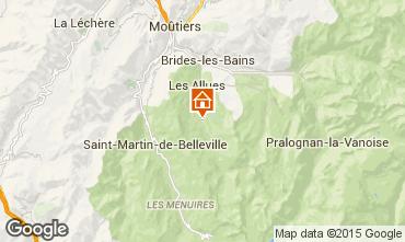 Map Méribel Chalet 49532