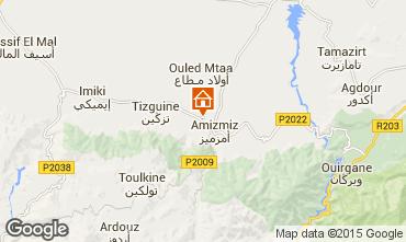 Map Marrakech Vacation rental 73311
