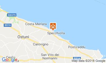 Map Ostuni Villa 94356