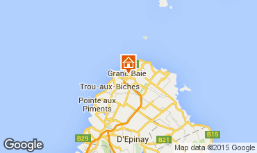 Map Grand Baie Apartment 39385