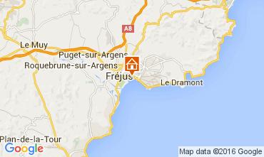 Map Fréjus One-room apartment 104668