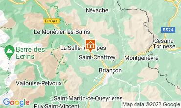 Map Serre Chevalier Apartment 109101